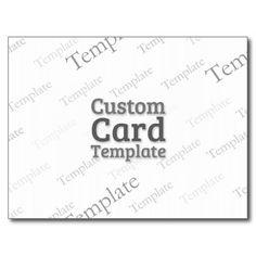 Postcard Custom Template