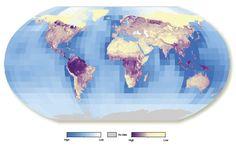 Primeiro mapa global dos ativos ecossistêmicos é apresentado pelo PNUMA