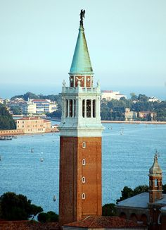 Venice San Giorgio Maggiore Church Bell tower