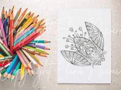 Paisley Coloring Pages, Cool Coloring Pages, Flower Coloring Pages, Printable Coloring Pages, Coloring Pages For Kids, Wall Art Crafts, Diy Wall Art, Card Drawing, How To Draw Hands
