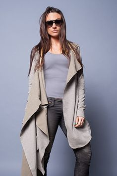 Draped Hooded Wrap. could i make this?