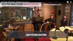 I love Warne, Platz, Platz and Dan <3  (from the Acoustic version of Believer RTL2 POP ROCK STUDIO) Imagine Dragons, Dan Reynolds, Smoke And Mirrors, Indie Music, Pop Rocks, Acoustic, Believe, Thankful, Fandoms