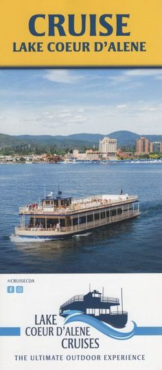 Daily Scenic Cruises, Sunset Dinner Cruises and Brunch Cruises. Experience the lake the way it was meant to be seen. Coeur D'alene, Brochures, Cruises, Attraction, Brunch, Tours, Sunset, Dinner, Places
