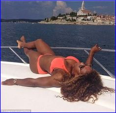 #SerenaWilliams Enjoys The Sun In Croatia With New...