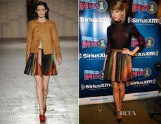 Taylor Swift In Marco de Vincenzo – SiriusXM Studios
