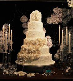 bolo de casamento!! lindo