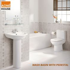 Get Wash Basins with Pedestal at http://www.aonehouse.com/wash-basin-with-pedestal/ that are designed according to the international standards