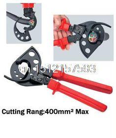 Nuevo Ratchet cortador de Cable de corte máximo 400mm2 cortador de alambre(China (Mainland))