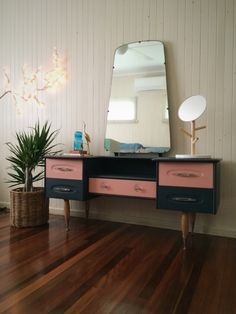 Mid century modern with Chalk paint by Annie Sloan