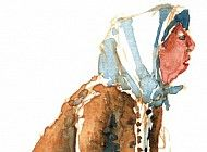 old woman watercolor - Pesquisa Google