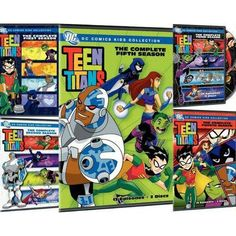 DC Comics Teen Titans: Seasons 1-5