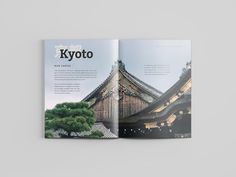 Mock Travel Mag: Kyoto by Yvonne Chien
