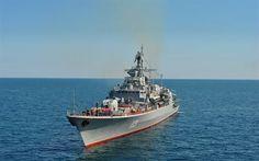 Scarica sfondi marina ukraainy, fregata, ucraina, hetman sahaidachny, mar nero