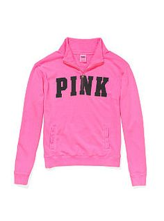 Pink vs half zip need. Maybe not bright pink though