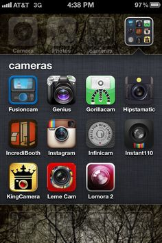 Just the list of apps I've been looking for. Introduction to iPhoneography (plus recommended iPhone photography apps