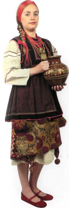 жіночий народний одяг степової зони