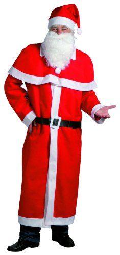 Idena 8580108 - Kostüm Weihnachtsmann 5- teilig (Mantel mit Cape,Bart,Mütze und Gürtel, aus Filz) Universalgrösse Idena http://www.amazon.de/dp/B000XIZ3WO/ref=cm_sw_r_pi_dp_.gvywb0KDXJXG