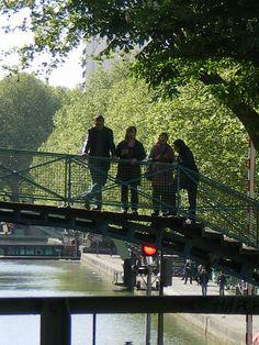 Canal Saint-Martin, Quai de Valmy, Paris X
