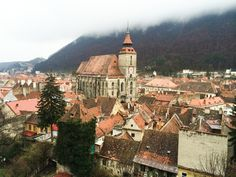 """Brașov is a city located in Transylvania, a region of Romania renowned for its castles, eerily foggy skies and charming little towns and villages. Although classified as a city, Brașov feels much more like a small town to be discovered on foot, even when climbing to the infamous """"Brasov sign"""" (a rip off of the Hollywood sign – yup, really!) From here you can explore the beautiful Bran Castle (also known as Dracula's Castle) as well as nearby Peles Castle, said to be Europe's most beautiful…"""