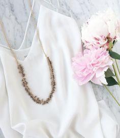 Our Julia necklace makes a subtle impact