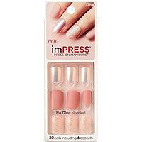 Kiss Night Fever Impress Press On Manicure Nails Cute Easy Manicure Prettynails Pink Pressonnails Gel Fantasy Nails Impress Nails Fantasy Nails