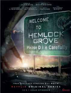 #Hemlock Grove | Netflix!!  AWESOME Series hopping to see another Season!!!