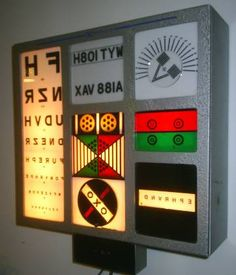 dmv vision test machine