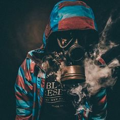 We have a very limited time to get this right. Gas Mask Art, Masks Art, Smoke Photography, Portrait Photography Poses, Dope Wallpapers, Colored Smoke, Smoke Art, Vincent Van Gogh, Vape