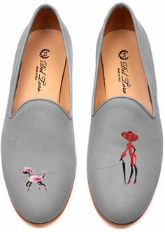 For The Girl Who Loves All Things French: Del Toro Walking The Dog Loafer