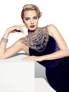 Photos: Margot Robbie, of The Wolf of Wall Street, as Our Fall Pin-up   Vanity Fair