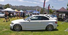 """V702 18"""" Brushed Aluminum - BMW E82 135i"""
