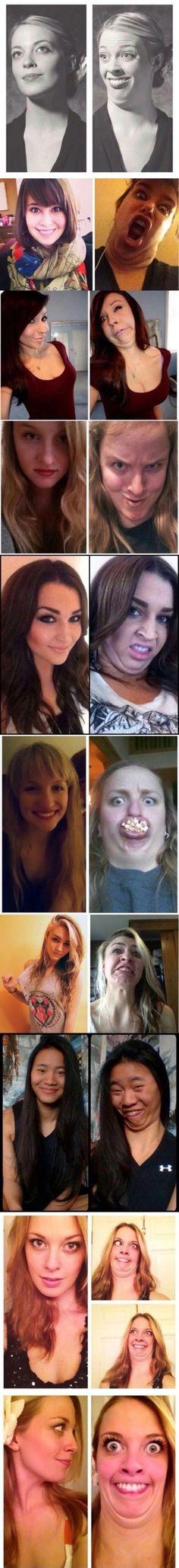 Ladies who laugh. #Imgur