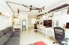 Case Study 01 - A Creative Couple's Dreamy IKEA Filled Flat
