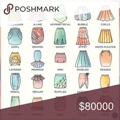 What Type of Skirt Is It? Find your shape here... I have mostly pencil skirts but a few others.... J. Crew Skirts Pencil