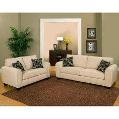 @Overstock - Make your living room cozier with this sturdy sofa and loveseat set. The chenille upholstery, accent pillows and cushioned back support are sure to keep you comfortable. Choose from a color selection of chocolate, gray or oyster to match your decor.http://www.overstock.com/Home-Garden/Summer-Chenille-Fabric-2-piece-Sofa-and-Loveseat-Set/6332259/product.html?CID=214117 $1,429.99