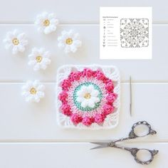 """2,972 Likes, 64 Comments - Crochet (@crochetbyredagape) on Instagram: """"Good morning ☺for those who were asking about this pattern - it's called the Daisy Wheel square and…"""""""