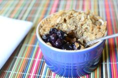 Really nice recipes. Every hour. • SIMPLE INDIVIDUAL BLUEBERRY CRISPS Really nice...