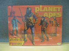AURORA LIMITED EDITION 4 PACK DIORAMA DISPLAY PLANET OF THE APES COA SEALED NEW #Aurora