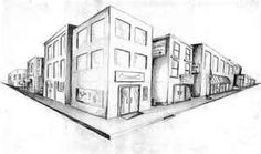 Art how to paint and draw using a Two-point perspective.