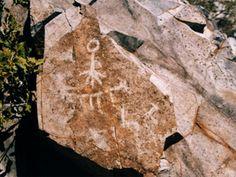 Petroglifo sector Cunlagua - Chile
