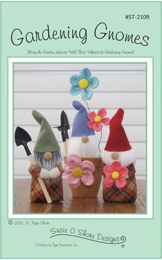 Gardening Gnomes Boys And Girls Club, Boy Or Girl, Gnomes, Serving Others, Patio Table, Pattern Paper, Marker, Hand Embroidery, Whimsical