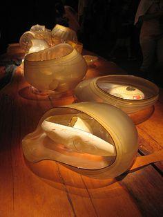 Chihuly Glass Baskets installation at MFA Boston