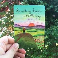 Self-care cards (often called inspiration decks or affirmation decks) are a really fun tool to add to your creative self-care toolbox. You can often find them in the self-help or gift section in bookstores....