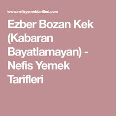 Ezber Bozan Kek (Kabaran Bayatlamayan) - Nefis Yemek Tarifleri Coffee Cake, Yummy Cakes, Bon Appetit, Blueberry, Diy And Crafts, Food And Drink, Cooking Recipes, Sweets, Desserts