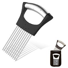 DUAL-PURPOSE tool gives you gourmet quality results whether you're dicing onions and slicing tomatoes or using it as a meat tenderiser on the fly. IT'S the simple solutions that work be… Potato Storage, Potato Cutter, Potato Peeler, Vegetable Storage, Stainless Steel 304, Odor Eliminator, Good Grips, Organizer, Kitchen Gadgets