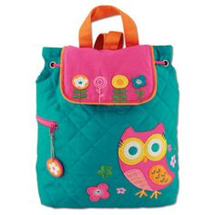 BEST SELLER Owl Quilted Backpack by MJSpiritWear on Etsy, $34.95