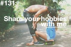 Single and looking for a man who… will share your hobbies with me. Via WinMyHeart on Tumblr.