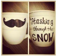 DIY mugs. bahahaha! too funny.