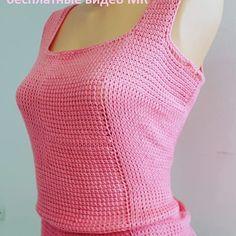 Pink Sweater Dress, Crochet Top, Knitting, Sweaters, Tops, Dresses, Women, Fashion, Blouses