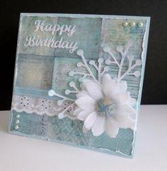FS388 ~ Blue Birthday by sistersandie - Cards and Paper Crafts at Splitcoaststampers